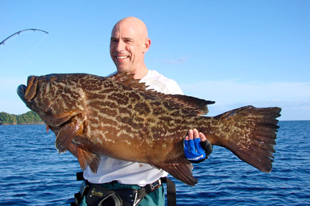 broomtail grouper coiba island fishing