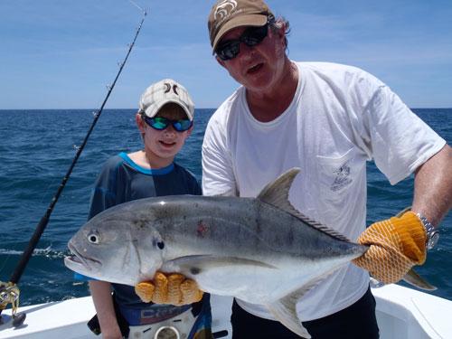 pacific jack gamefish coiba island